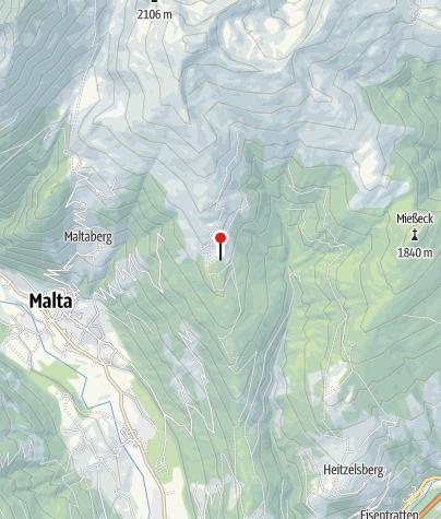 Karte / Frido-Kordon-Hütte