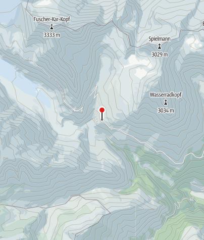 Karte / Glocknerhaus