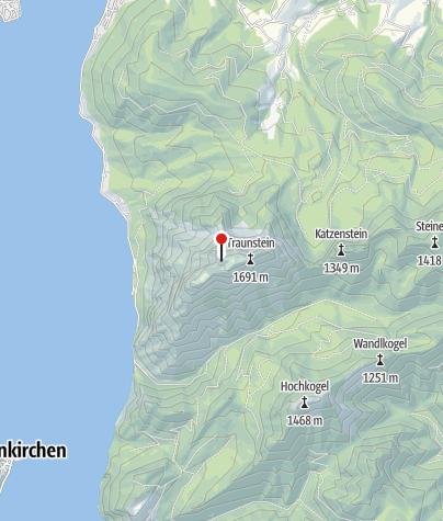 Karte / Gmundner Hütte