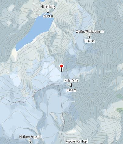 Karte / Gruberscharten-Biwak