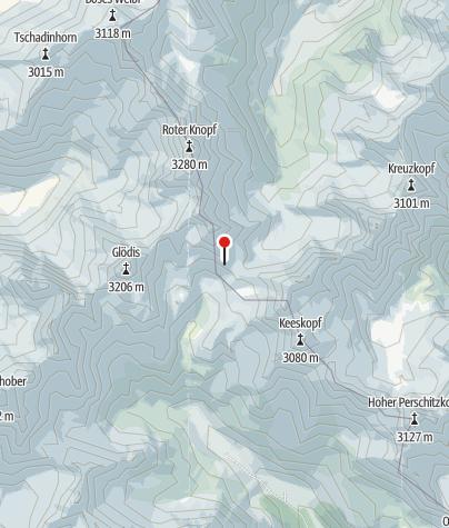 Karte / Gössnitzkopf-Biwak