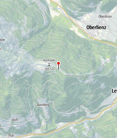 Karte / Hochsteinhütte
