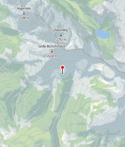 Karte / Hofpürglhütte