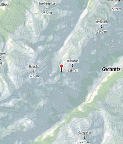 Karte / Innsbrucker Hütte