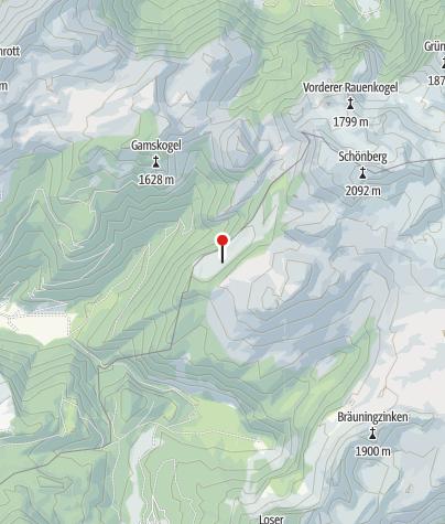 Karte / Ischler Hütte