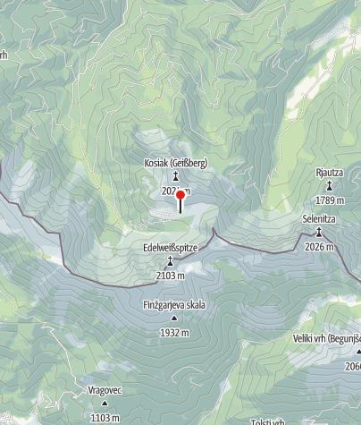 Map / Klagenfurter Hütte