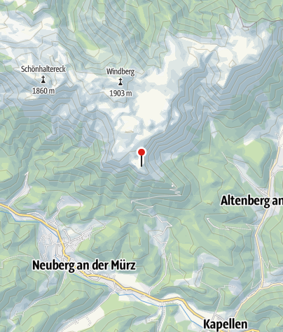 Karte / Kutatschhütte