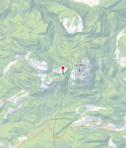 Karte / Lambacher Hütte