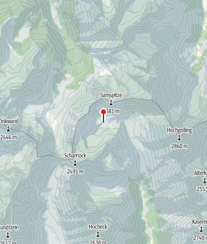 Karte / Landawirseehütte