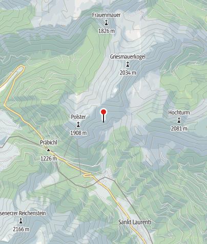 Karte / Leobner Hütte