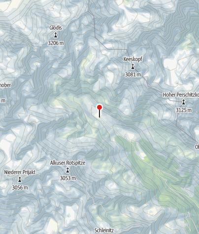 Karte / Lienzer Hütte