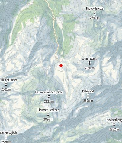 Karte / Lizumer Hütte