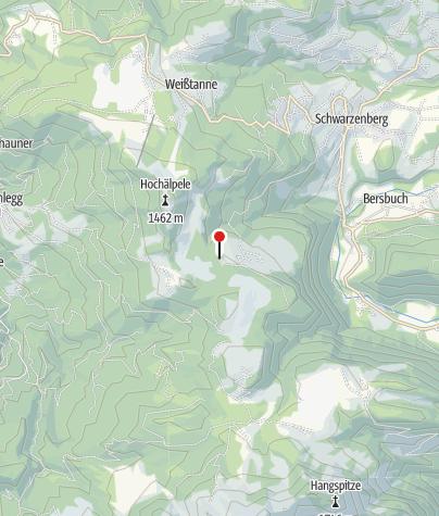 Karte / Lustenauer Hütte