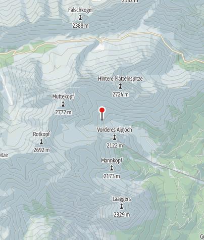 Karte / Muttekopfhütte
