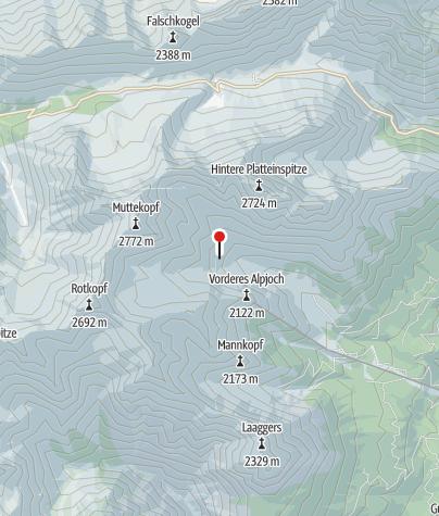 Map / Muttekopfhütte