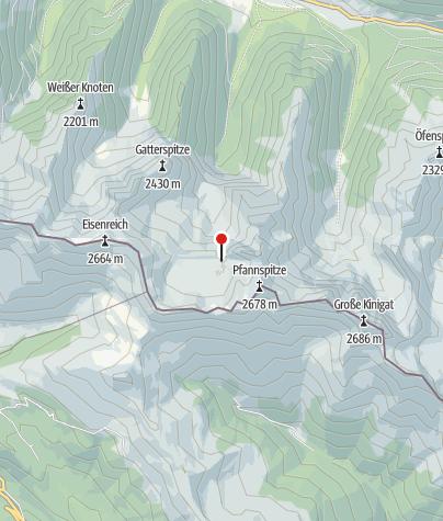 Karte / Obstansersee-Hütte