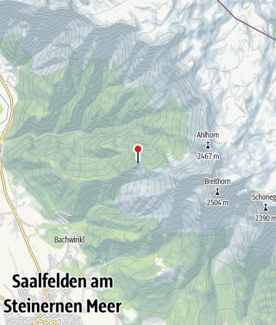 Karte / Peter-Wiechenthaler-Hütte
