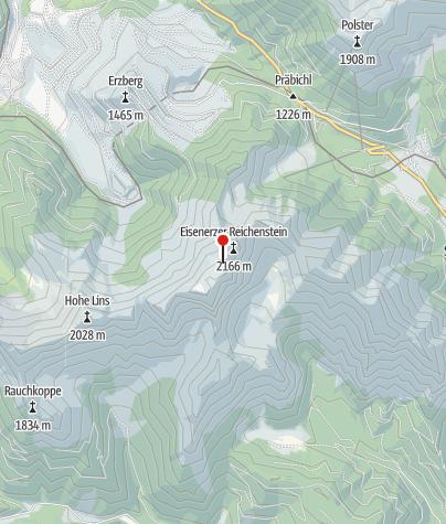 Karte / Reichensteinhütte