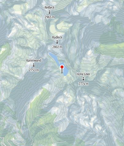 Karte / Reisseckhütte