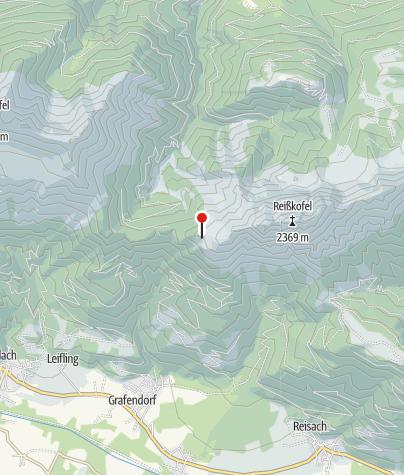 Karte / Reisskofel-Biwak