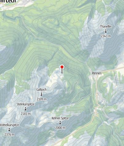 Karte / Reuttener Hütte