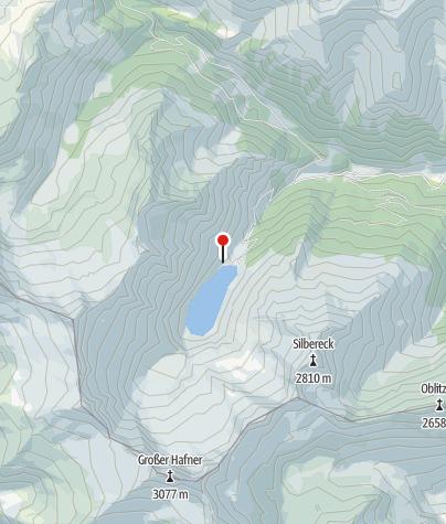 Karte / Rotgüldenseehütte