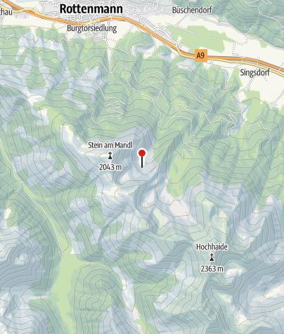 Karte / Rottenmanner Hütte