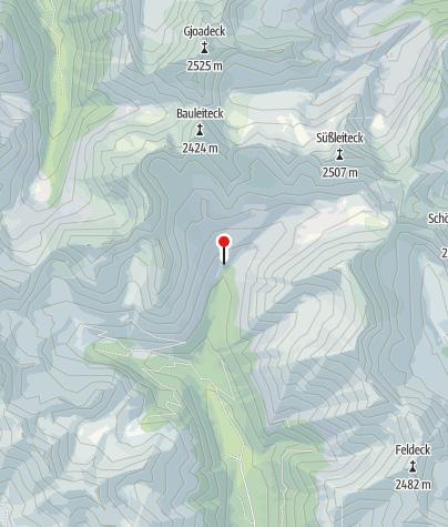 Karte / Rudolf-Schober-Hütte