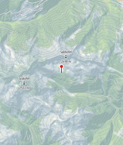 Karte / Salzkofelhütte