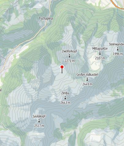 Karte / Sarotlahütte