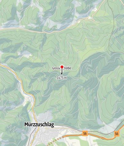 Karte / Scheibenhütte