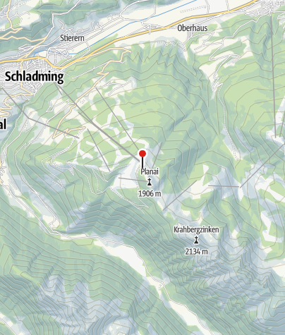 Karte / Schladminger Hütte