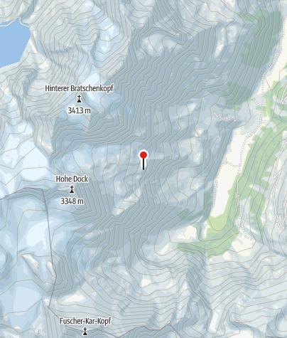 Karte / Schwarzenberghütte