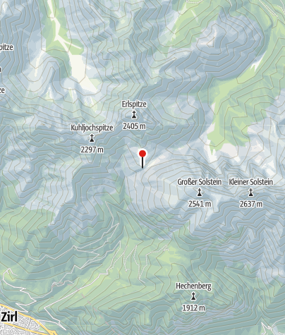 Map / Solsteinhaus