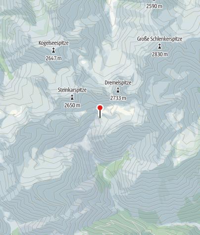 Karte / Steinseehütte