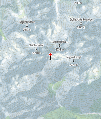 Map / Steinseehütte