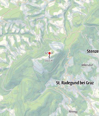 Karte / Stubenberghaus
