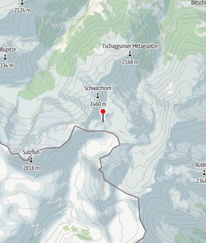 Karte / Tilisunahütte