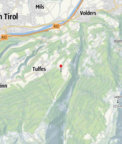 Karte / Vinzenz-Tollinger-Hütte
