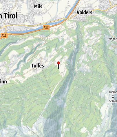 Map / Vinzenz-Tollinger-Hütte