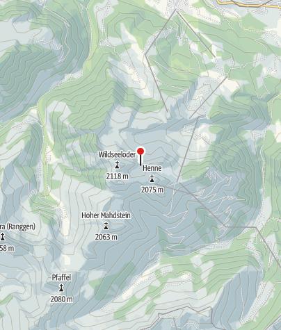 Karte / Wildseeloderhaus