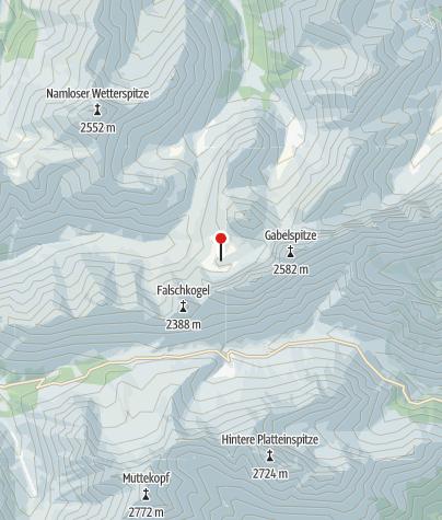 Karte / Anhalter Hütte