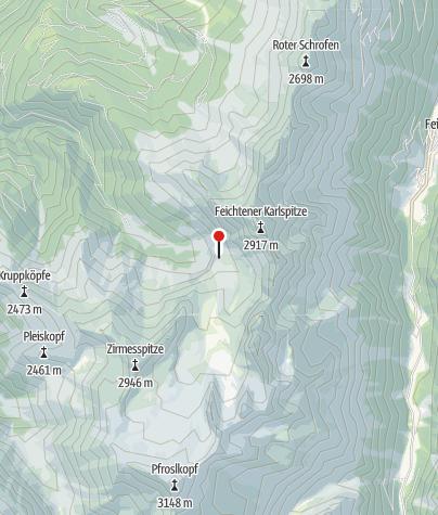 Karte / Anton-Renk-Hütte