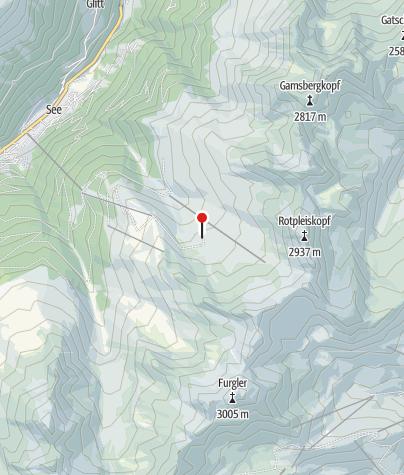 Map / Ascher Hütte