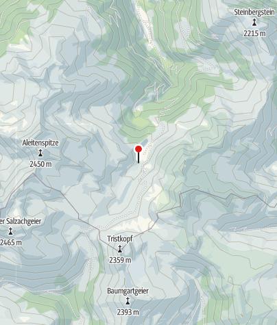 Map / Neue Bamberger Hütte