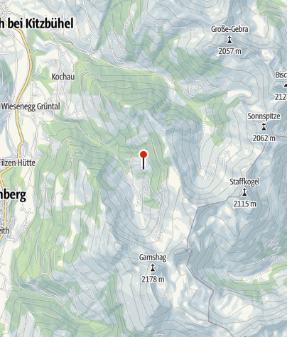 Karte / Bochumer Hütte (Kelchalm)