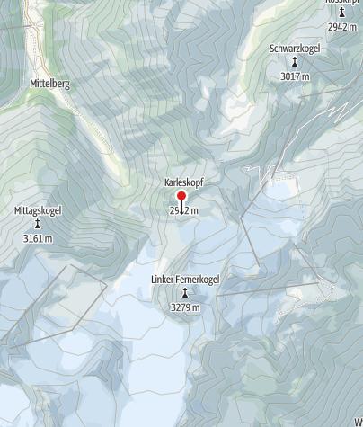 Map / Braunschweiger Hütte