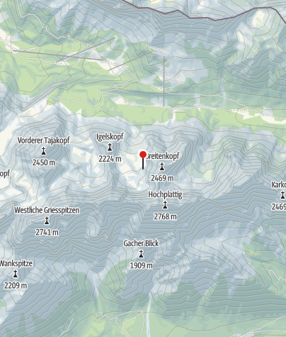Karte / Breitenkopfhütte