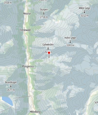 Karte / Rüsselsheimer Hütte