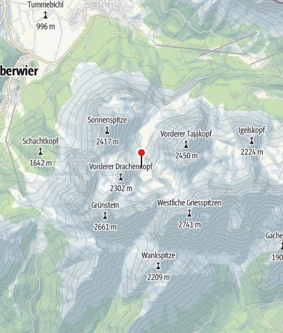 Karte / Coburger Hütte